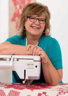 Pat Sloan's 4 tips for machine quilting with a walking foot (video