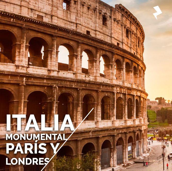 Italia, París y Londres