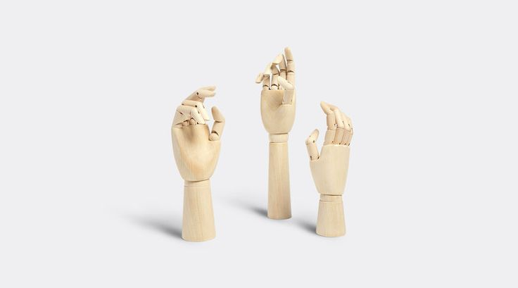 Wooden Hands by Hay