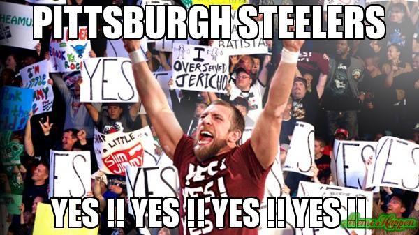 pittsburgh steelers memes   Pittsburgh steelers yes !! yes !! yes !! yes !! meme - (4435)