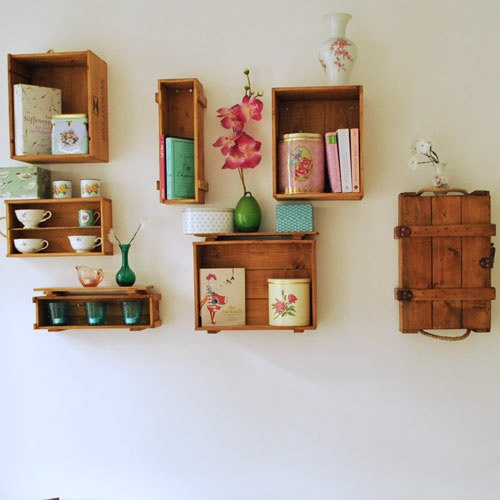 17 Best Images About Crate Shelves On Pinterest Crates