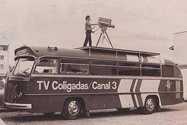 ÔNIBUS DE EXTERNAS DA TV COLIGADAS - BLUMENAU - CLUBE DOS ENTAS ITAJAI