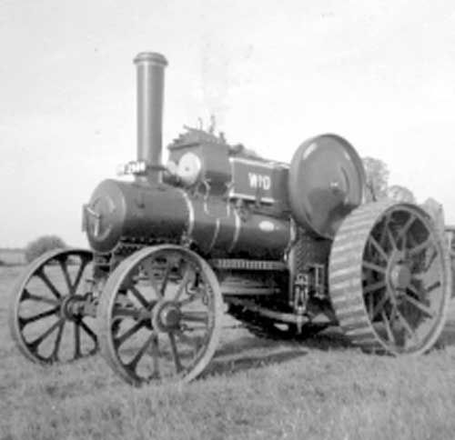 Fowler Steam Engine, plough