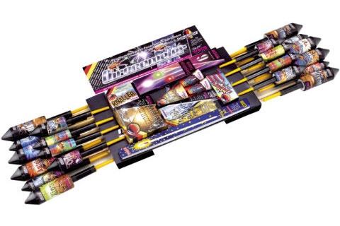 Chronometer Premium-Komplett-Feuerwerksortiment von Weco II - Der Feuerwerk Shop
