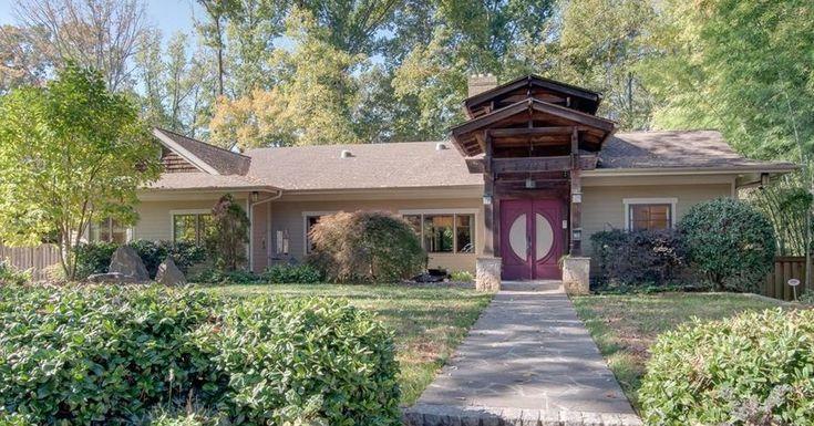 Meet Avondale Estates S Priciest Home A Zen Filled Retreat Seeking 1 1m Avondale Estates Estate Homes Avondale