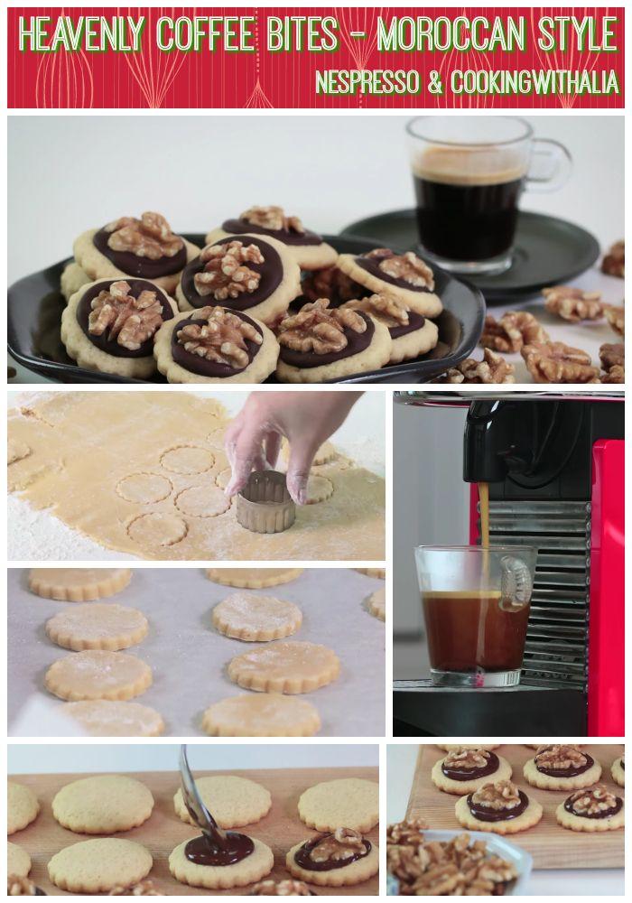 Heavenly chocolate walnut cookies! Video: https://youtu.be/xqtqJfMp0aw