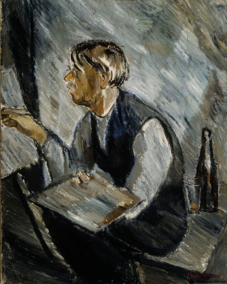 Tyko Sallinen Ruokokoski målar 1916