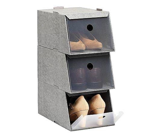 "Komplet 3 pudełek na buty ""Pablo"", 21, 5 x 16 cm"