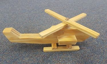 Small Apache Helicopter - $9.50