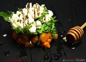 Sałatka z pieczoną dynią i serem feta
