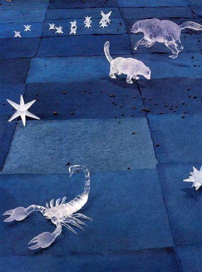 "Kiki Smith, ""Constellation,"" detail, 1996."