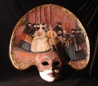 Volto grande con maschere M10 « Atelier Marega