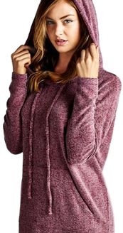 PRESALE Girls in the Hoodie Presale $49.99 Expires Oct 28,2015 midnight PST after 59.95 Comes in Wine and Heather Grey.