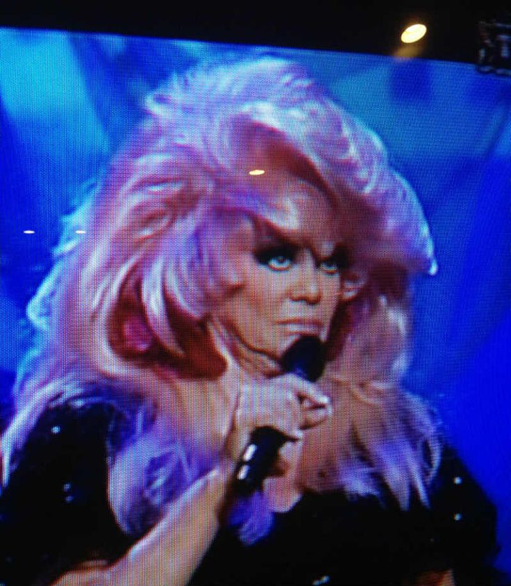 TBN co-owner Jan Crouch is shown during a TV broadcast.