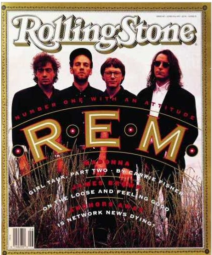 REM - Monster is in my top 10 all time favorite rock albums!  These guys are great songwriters, but I love it when they do Jimmy Webb covers! RW