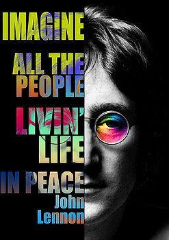 Nostalgic Art - John Lennon Quotes