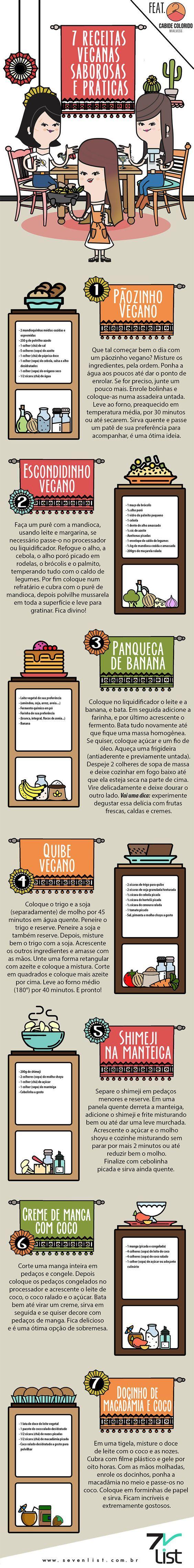 Receitas Veganas Práticas e Saborosas!!!