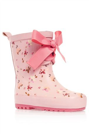 Buy Pink Floral Wellington Boot (Younger Girls) from the Next UK online shop