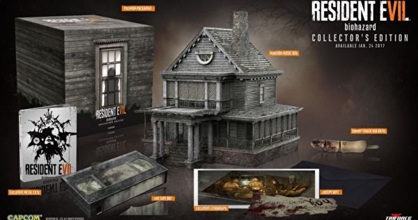 Resident Evil 7 Collector's Edition includes dummy finger USB drive
