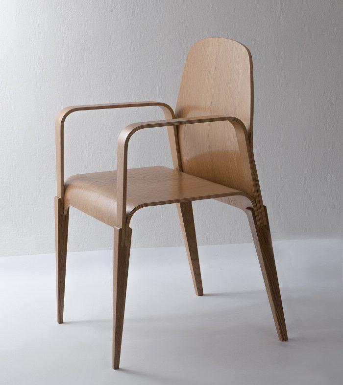 Projet étudiant : La Chaise En Bois Par Julia Wilman
