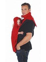 "Hoppediz fleece cover ""Basic"" Red #ooiebeest"