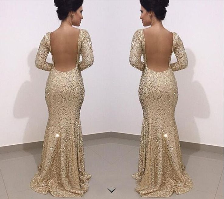 Prom Dress Fitted, Sequin Prom Dresses,Prom Dress,Backless Evening Gown,Long Formal Dress,Sequined Prom Gowns,Open Backs Evening Dresses For Teens MT20183206
