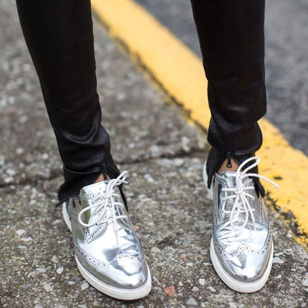 We Love: Metallic Shoes