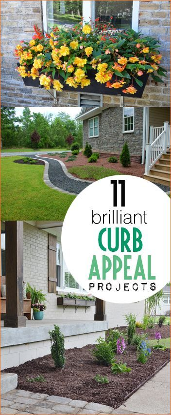 8 Simple And Easy Landscaping Ideas: Top Curb Appeal Landscaping Improvements