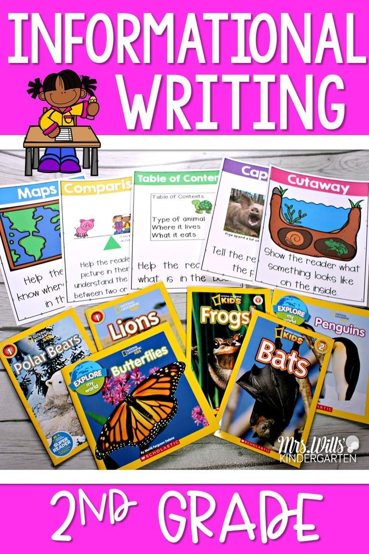 Teaching Informational Writing in Second Grade | Writing