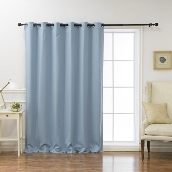Alcott Hill® Blackout Curtains Features An Innovative Fabric Construction  For Single Layer Blackout. Unlike Blackout Curtains With Stiff Lining, ...