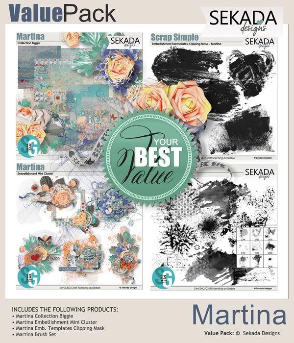 Value Pack: Martina
