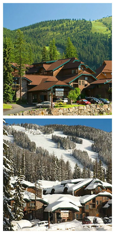 Kandahar Lodge in Whitefish, Montana   glaciermt.com