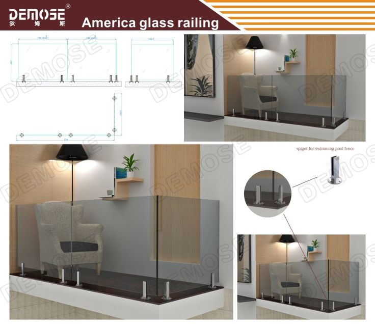 Glass railings and the corner become a terrace, just a small place, eye shot is open. Faint yellow light, warm and comfortable. Become one place can make you read quietly and think, leave the noisy city life. Choose DEMOSE glass railings, you choose a better living environment.