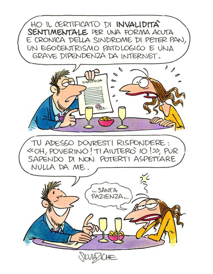 74-copia Questa vignetta è il top del top della formidabile,Silvia Ziche
