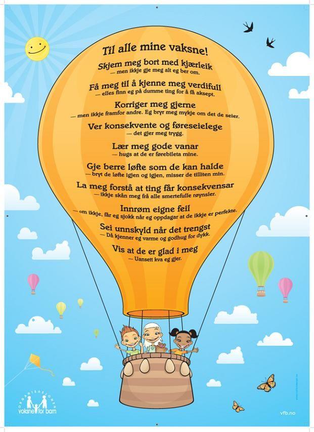 Plakat: Til alle mine vaksne