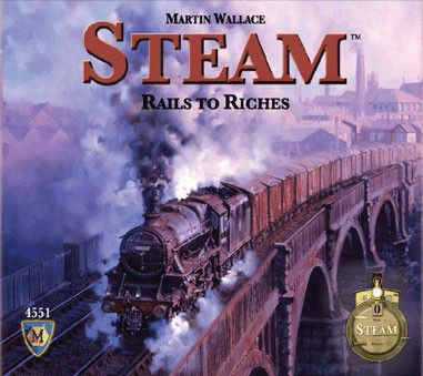 Martin Wallace's new train game will be published by Mayfair. The game is of the same family of rail games as Age of Steam and Railroad Tycoon, both previous games designed by Wallace. The game plays