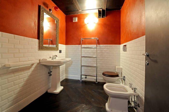 Nawet nietypowe łazienka może być ergonomiczny.