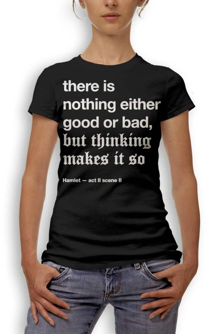 Shakespeare's Famous Quotes on T-Shirts