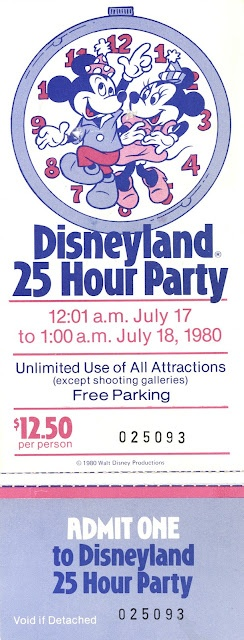 Vintage Disneyland Tickets: Decades of Disneyland Tickets - Part 2