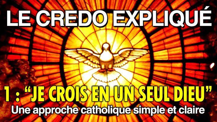 """Le Credo Expliqué - Ep.1 : """"Je crois en un seul Dieu"""" - Le Credo Expliqué.  Avec le Diacre Jacques Fournier, spécialiste de la Bible, comprenez les fondements de la foi.  Une approche catholique simple et claire sous la forme d'un dialogue pour pouvoir comprendre facilement."""