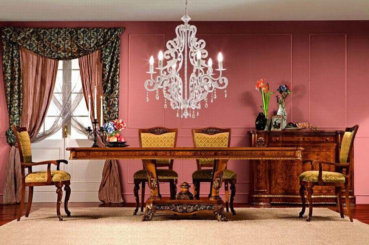 Tradiční italský nábytek do jídleny od Cugini Marzorati, kompletní kolekci naleznete na našich stránkách: http://www.saloncardinal.com/galerie-cugini-marzorati-edf