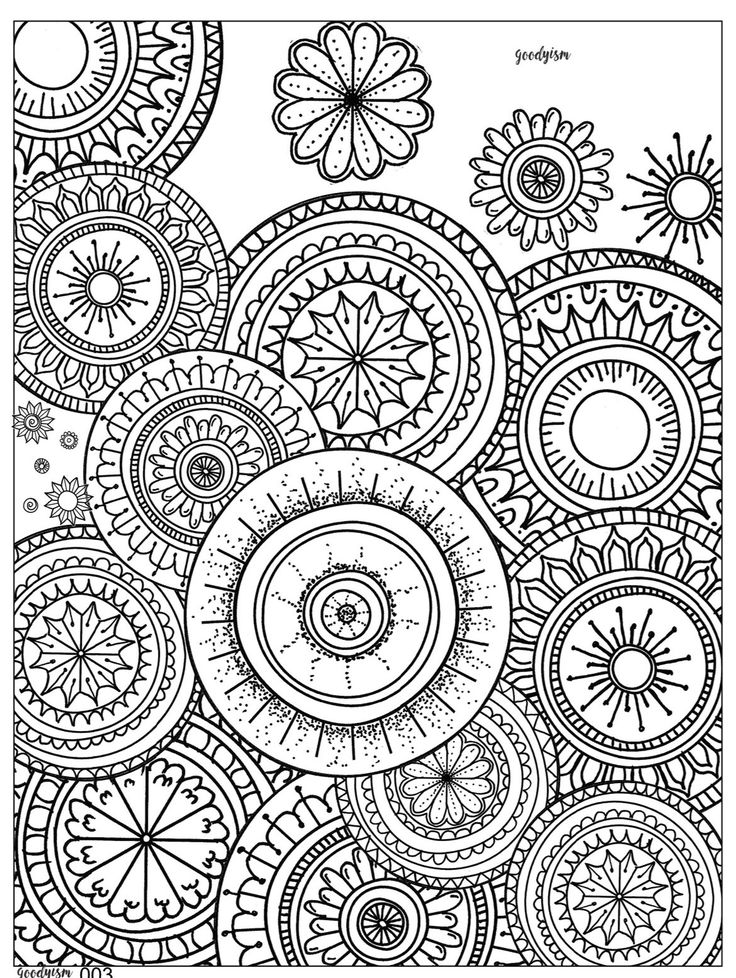 Vintage Patterns Coloring Pages. Adult Coloring  Books Circles Mandalas Vintage Pages 45 best 2 May pages images on Pinterest coloring