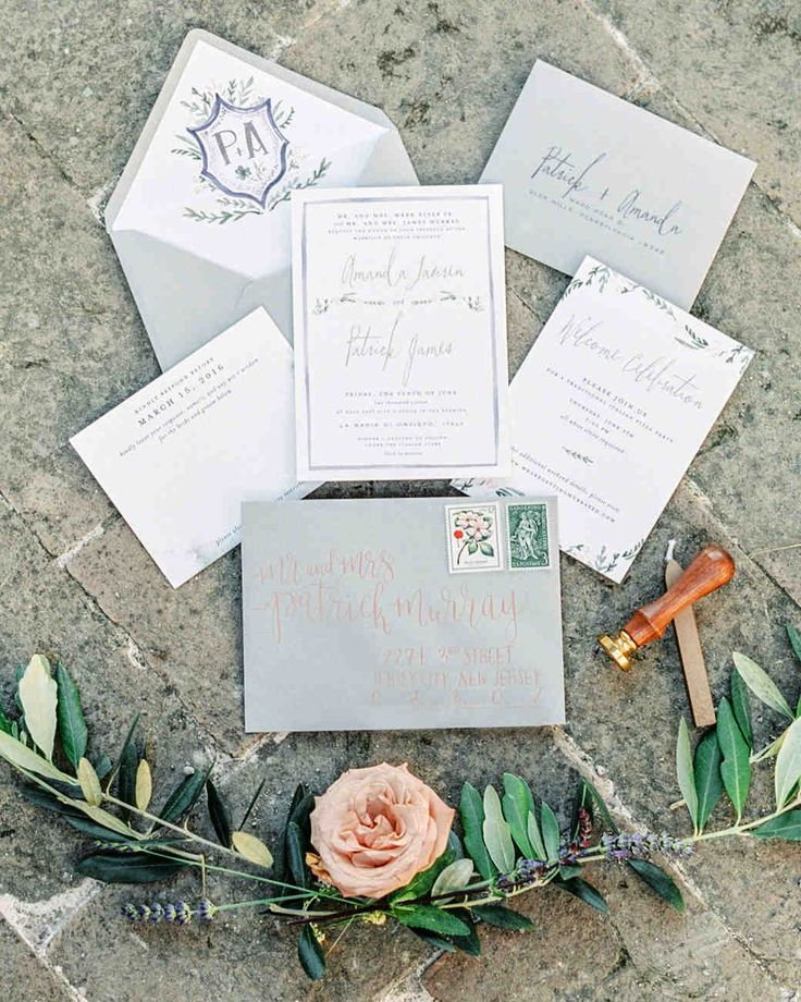 659 best wedding invitations images on pinterest this romantic italian wedding features a historic venueand one amazing view stopboris Choice Image