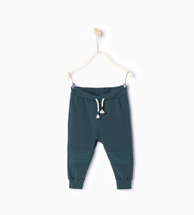 Trousers with knee patch-Trousers-Baby boy (3 months-4 years)-KIDS   ZARA United Kingdom