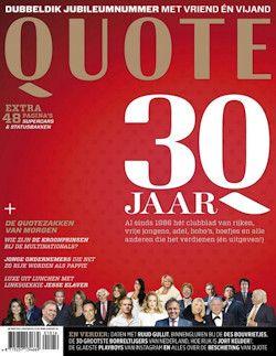 6x Quote € 45,: Het tijdschrift Quote bericht iedere maand over de stand van zaken in het bedrijfsleven, over mensen in zaken, geld, en carrière.