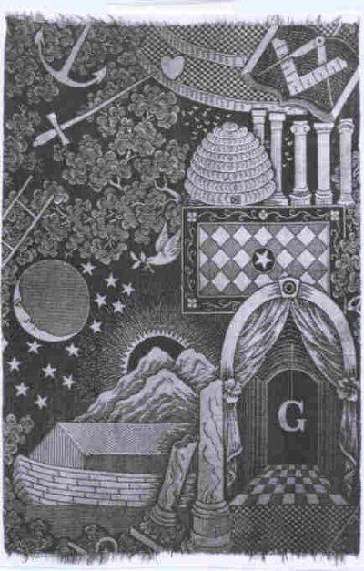 Freemasonry:  #Masonic tracing board.