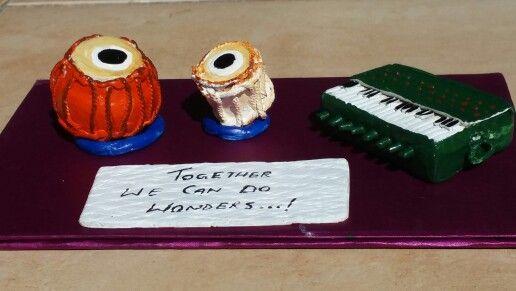 Handmade Clay Musical instruments