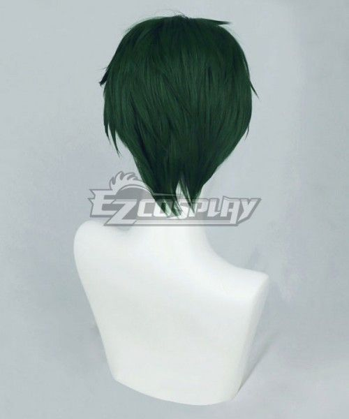 UK seller Jack style Short layered fluffy spikeable cosplay wig in blue-grey