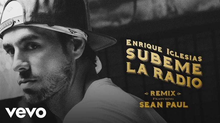 143 💋💋Listen: Subeme La Radio Remix, the new Remix from Enrique Iglesias feat. Sean Paul.