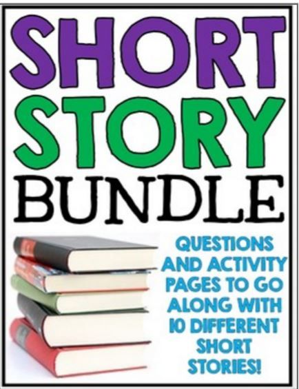 Short stories definitely have their place in the middle school English classroom.  These short works of literature can grab a reader's a...